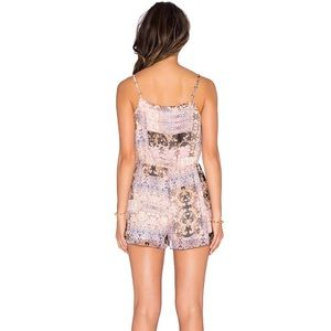 BCBGeneration Pants & Jumpsuits - BCBGeneration printed crossover romper small NWT